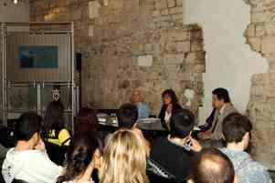 Trento, Palazzo Festi, 24/09/2014 - conferenza stampa di Antonella Giannini e Aurora Mazzoldi