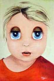 Aurora Mazzoldi - Jane - acrilico su pannello telato. Per la pagina sul caos emotivo dell'Osservatorio Interiore