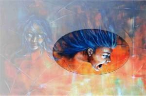 """Aurora Mazzoldi - La Rabbia (particolare dal trittico """"Appetiti"""") - Osservazione interiore per vivere consapevolmente la propria emotività."""