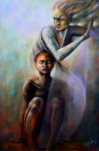 Foto del quadro acrilico: Madre 1 - Il Possesso, di Aurora Mazzoldi