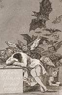 Goya - Il sonno della ragione genera mostri -(No. 43), da Los Caprichos - Google Art Project