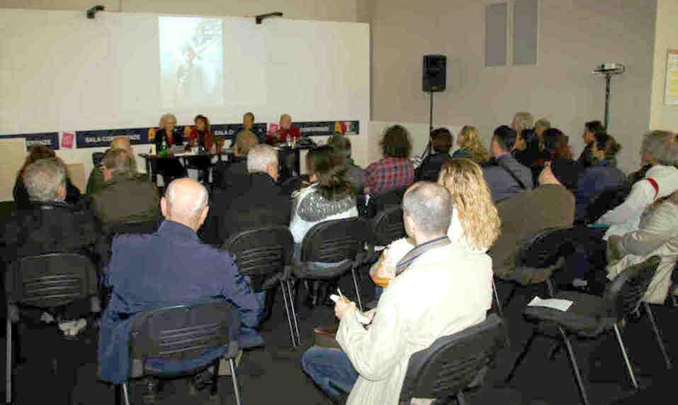 Conferenza Arte e Cura (Aurora Mazzoldi, Antonella Giannini e Gennaro Corduas). ArtePadova 2013 - Napoli Nostra