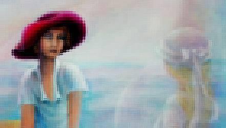 """Aurora Mazzoldi - Ascolto (particolare-rielaborato per la pagina """"Dialoghi Introspettivi)"""