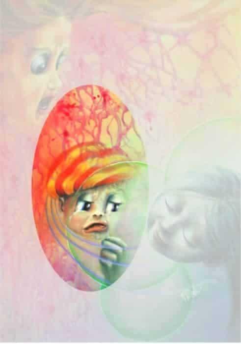 Aurora Mazzoldi. Consolazione - Tempesta Emotiva (particolare)